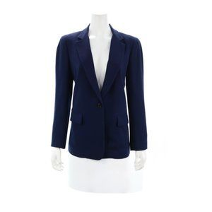 DKNY Navy Blue Blazer Size 12